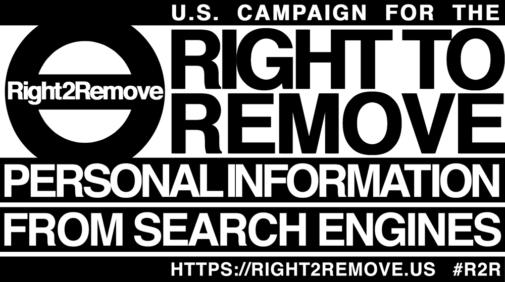 Petition for Introducing the Right to Remove Personal Information from Search Engines in the U.S.